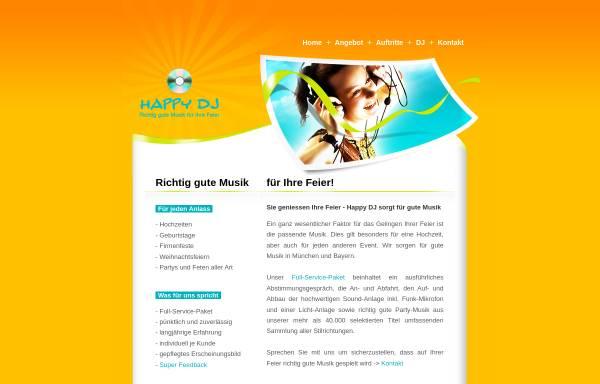 Vorschau von www.happy-dj.de, Happy-DJ