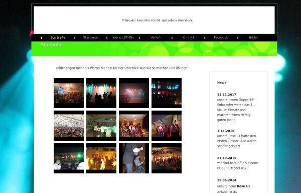 Vorschau von www.df-djs.de, Licht-Ton-DJ-Service