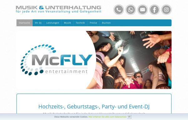 Vorschau von www.mcfly-entertainment.de, McFly-Entertainment