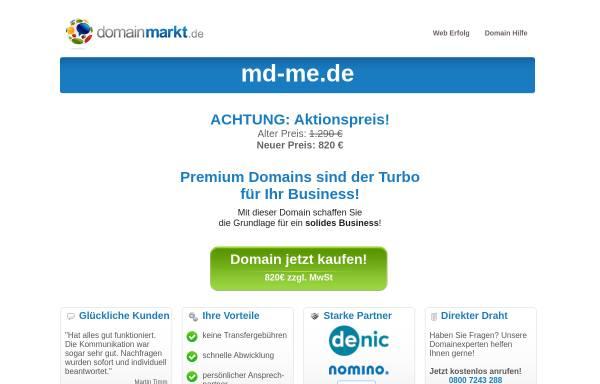 Vorschau von www.md-me.de, MD Music Entertainment