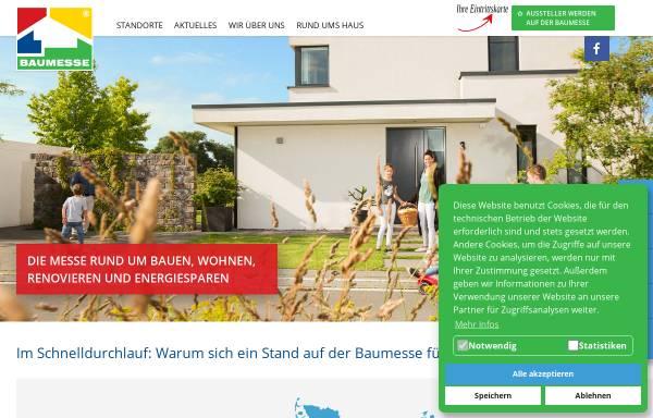 Vorschau von www.baumesse.de, Die Baumesse im Internet