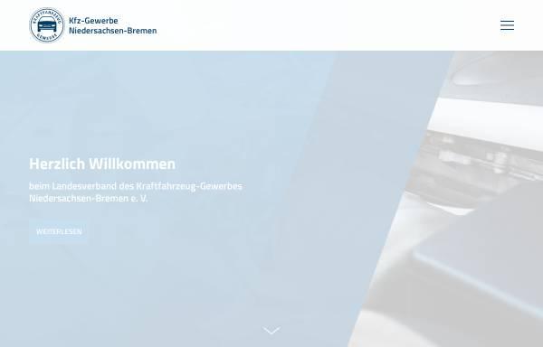 Vorschau von www.kfz-nds.de, Landesverband des Kraftfahrzeuggewerbes Niedersachsen-Bremen e.V.