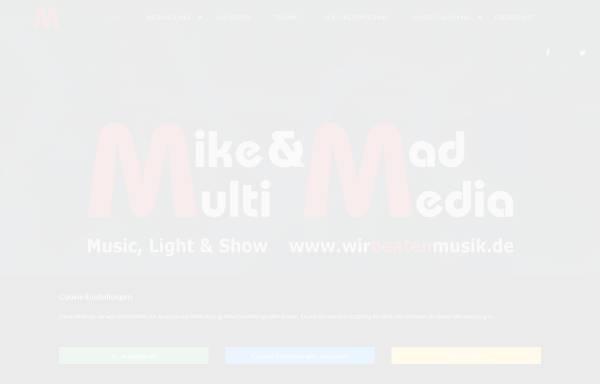 Vorschau von www.mike-and-mad.de, Mike Und Mad Multimedia