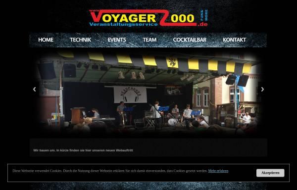 Vorschau von www.voyager2000.de, Mobil Disco und DJs Südspessart