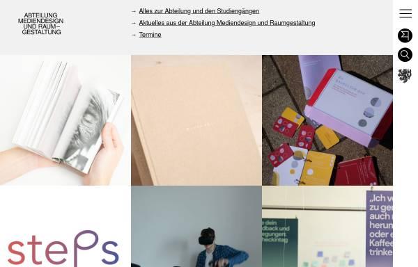 Vorschau von www.md.uni-wuppertal.de, Mediendesign / Designtechnik an der Bergischen Universität