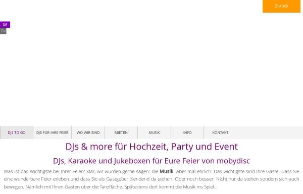 Vorschau von mobydisc.de, Mobydisc GmbH