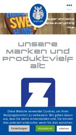 Vorschau der mobilen Webseite www.zuckersucht.de, Zuckersucht GmbH
