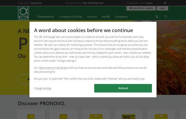 Vorschau von www.jbl.de, JBL Online