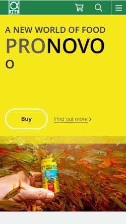 Vorschau der mobilen Webseite www.jbl.de, JBL Online
