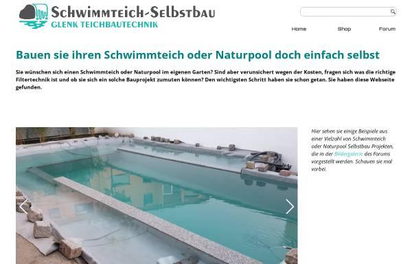 Vorschau von www.schwimmteich-selbstbau.de, Ralf Glenks Schwimmteich