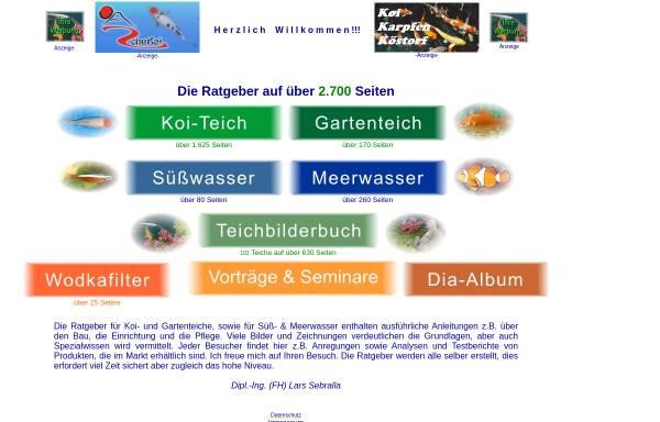 Vorschau von www.teichratgeber.de, Der Ratgeber für den Gartenteich