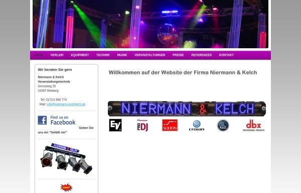 Vorschau von www.niermannundkelch.de, Niermann & Kelch
