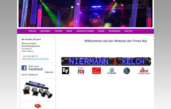 Vorschau von www.niermann-und-kelch.de, Niermann und Kelch
