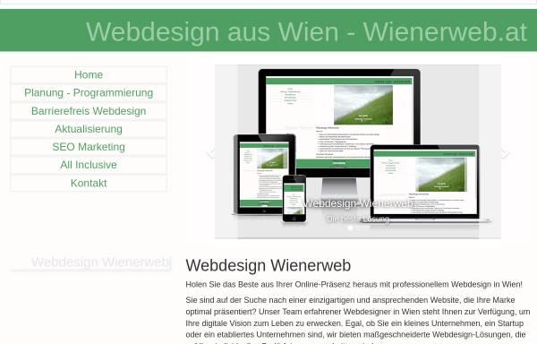 Vorschau von www.wienerweb.at, Manfred Reisinger