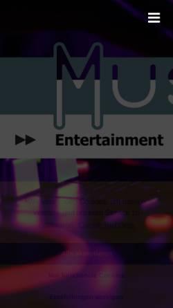 Vorschau der mobilen Webseite www.omk-music.de, OMK-Music