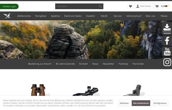 Vorschau von www.ddoptics.de, DDoptics Optische Geräte & Feinwerktechnik KG