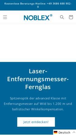 Vorschau der mobilen Webseite www.docter-germany.com, Docter - Optik