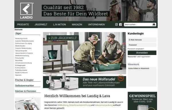 Vorschau von www.gamecooling.com, Landig-Kälteanlagenbau