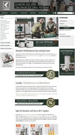Vorschau der mobilen Webseite www.gamecooling.com, Landig-Kälteanlagenbau