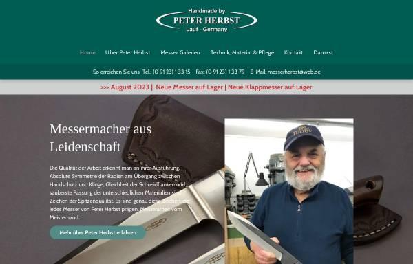Vorschau von www.messerherbst.de, Peter Herbst