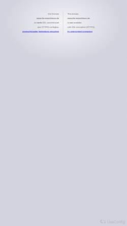 Vorschau der mobilen Webseite www.fm-maschinen.de, FM-Maschinen, Inh. Andreas Franz