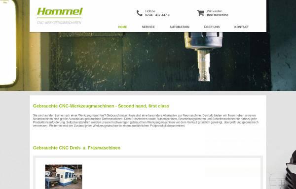 Vorschau von www.hogema.de, Hommel Maschinentechnik GmbH