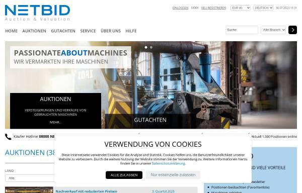 Vorschau von www.gebrauchtmaschinen-aktuell.de, Horst Wolff - Gebrauchtmaschinenhandel und -börse für die Metallverarbeitung