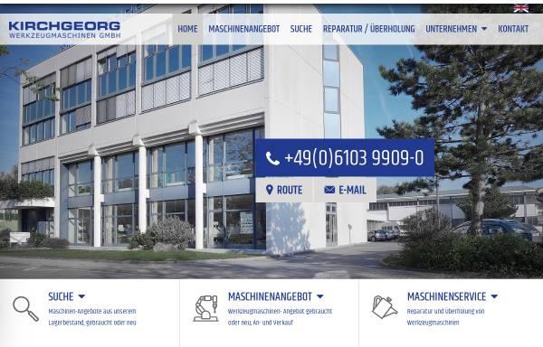 Vorschau von www.kirchgeorg.de, Kirchgeorg Werkzeugmaschinen GmbH