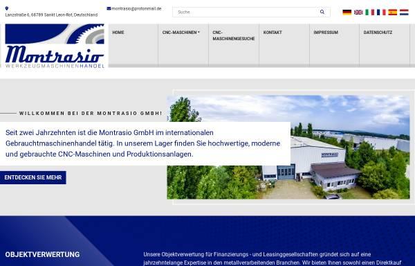 Vorschau von montrasio-gmbh.de, Montrasio GmbH