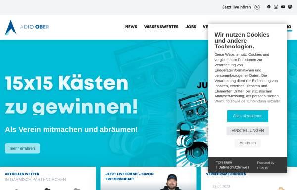 Vorschau von www.radio-oberland.de, Radio Oberland