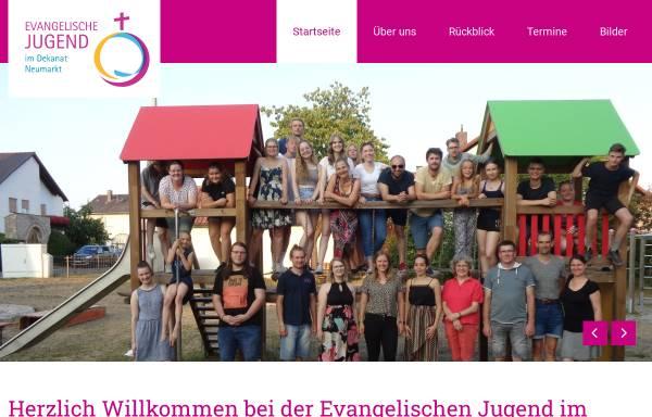 Vorschau von www.ejdnm.de, Evangelische Jugend im Dekanatsbezirk Neumarkt