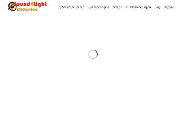 Vorschau von www.sound4light.de, Sound4Light