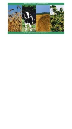 Vorschau der mobilen Webseite www.agraring.de, AM-Agrar Markt GmbH