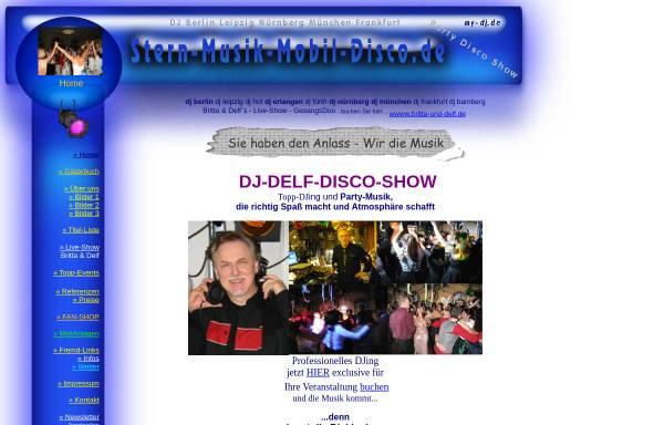 Vorschau von www.stern-musik-mobil-disco.de, Stern-Musik-Mobil-Disco