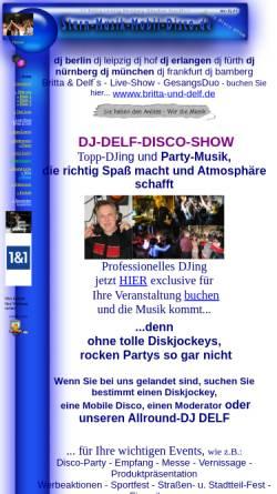 Vorschau der mobilen Webseite www.stern-musik-mobil-disco.de, Stern-Musik-Mobil-Disco