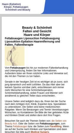 Vorschau der mobilen Webseite www.haare-koerper.ch, Transplantationen in Freiburg und Zürich