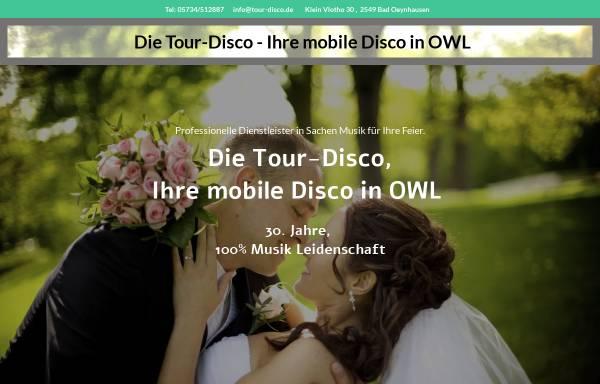 Vorschau von www.tour-disco.de, Tour Disco