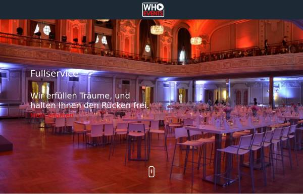 Vorschau von www.who-events.de, Who Events - Dj Service