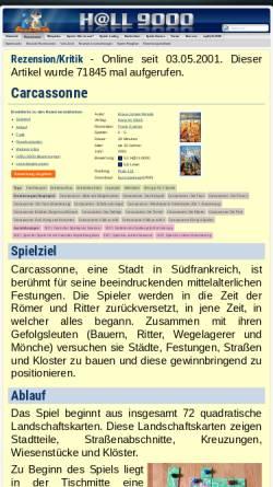 Vorschau der mobilen Webseite www.hall9000.de, HALL9000