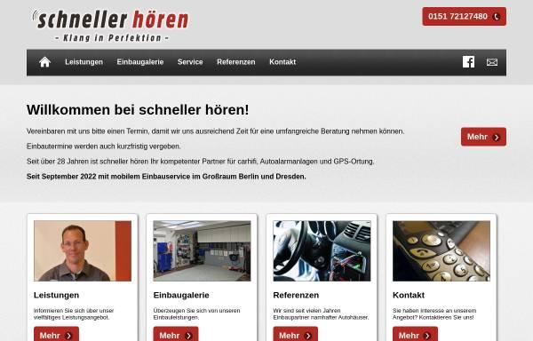 Vorschau von www.schneller-hoeren.de, schneller hoeren Ltd.