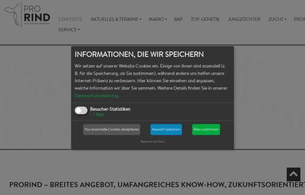 Vorschau von www.braunvieh.de, Arbeitsgemeinschaft Braunvieh
