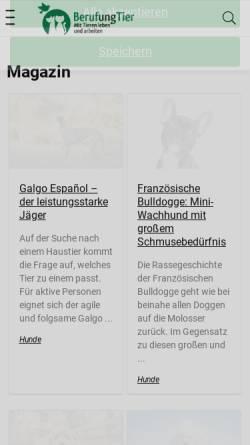 Vorschau der mobilen Webseite www.tiroler-braunvieh.at, Braunvieh Tirol