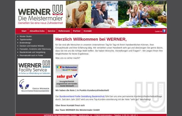 Vorschau von www.werner-online.com, Firmengruppe Werner