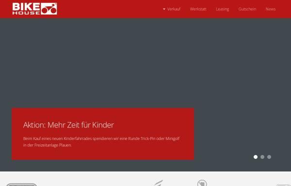 Vorschau von www.bikehouse-plauen.de, Bike House Plauen