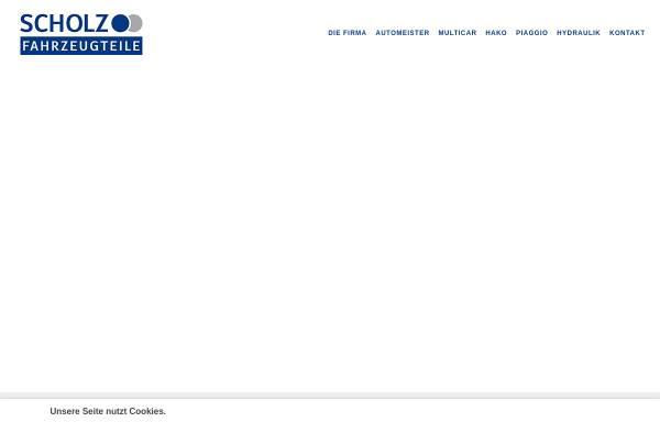 Vorschau von www.schofa.de, Scholz Fahrzeugteile