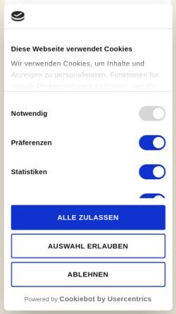Vorschau der mobilen Webseite www.kochertal-apotheke.de, Kochertal-Apotheke, Dr. Marion Schramm