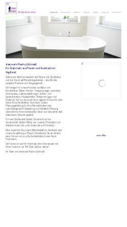 Vorschau der mobilen Webseite www.steinwerk-schmidt.de, Steinmetz Markus Schmidt