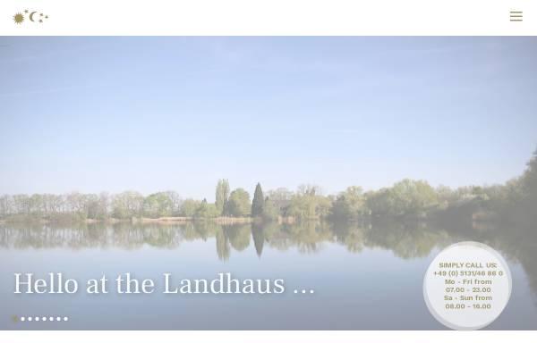 Vorschau von www.landhausamsee.de, Landhaus am See