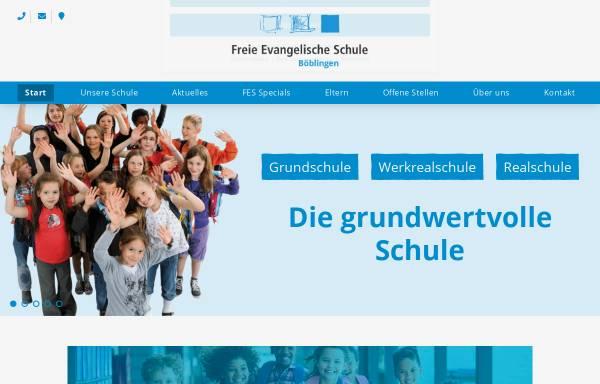 Vorschau von www.fesbb.de, Freie Evangelische Schule Böblingen