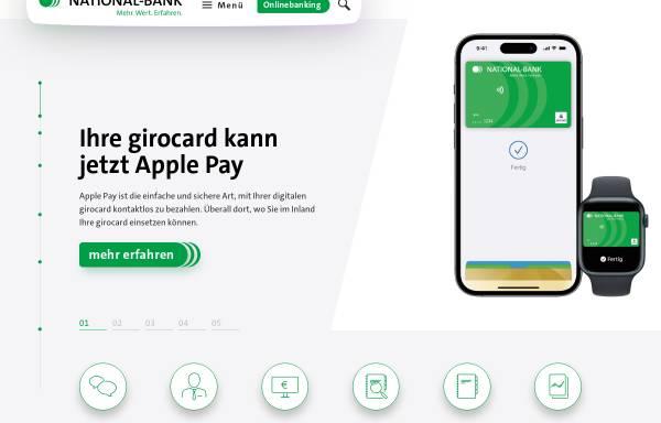 Vorschau von www.national-bank.de, National-Bank AG